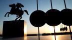 Urvater der Arroganz: Eine Statue Alexander des Grossen in Thessaloniki.