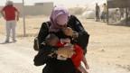 Hier leben mehr Menschen in den meisten Städte Jordaniens: ein Frau im Flüchtlingslager Zaatari.