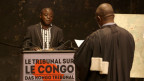 Teil der «Bukavu Hearings»: Chefankläger Sylvestre Bisimwa verhört einen Zeuge.