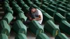 Viele offene Fragen: Erst kürzlich wurden 136 Opfer voin Srebrenica identifiziert.