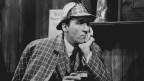 Christopher Lee spielt Sherlock Holmes, 1976.