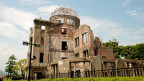 In Hiroshima erinnert eine Gedenkstätte an die Opfer der Atombombe.