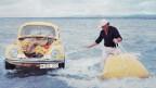 In den 1970ern noch unrealistisch: der selbstständig fahrende Käfer Dudu.