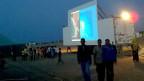 «Viele Menschen sehen hier zum ersten Mal einen Film auf Grossleinwand», erzhält die Direktorin des Festivals.
