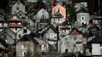 Der Dorfkern von Corippo, der kleinsten politischen Gemeinde der Schweiz, wurde 1975 unter Denkmalschutz gestellt.