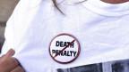 Gegen die Todesstrafe in den USA wird immer wieder demonstriert.