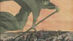 Cholera – gleichgesetzt mit dem Tod an sich: Illustration auf der Titelseite von «Le Petit Journal».