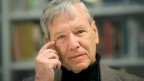 Amos Oz im Heinrich Heine Institut in Düsseldorft, Dezember 2008.