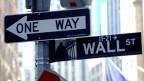 Die Wall Street, das Zentrum der Finanzwelt: Gibt es für Wirtschaft wirklich nur eine Richtung?