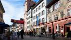 Altstadt mit Strassencafés
