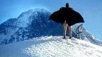 Filmstill aus dem Film «The Flasher From Grindelwald», der in Solothurn im Rahmen des Programms «Berg-Experimente» gezeigt wird.