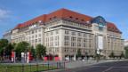 Das bekannteste Warenhaus Deutschland: Das KaDeWe, das 1907 eröffnet wurde.