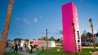 An der Art Basel Miami Beach, 2005.