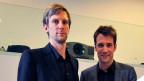 Die Architekten Christoph Gantenbein (l.) und Emanuel Christ (r.)