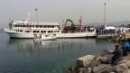 Eine Fähre brachte Flüchtende von Griechenland zurück in die Türkei.