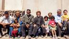 Bild einer Grossfamilie in Usbekistan