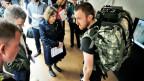 Soldaten sollen in Zunkunft eine hochtechnische Ausrüstungen für extreme Einsätze erhalten. Das Institut forscht auch an einem System, um das Gehirn des Soldaten aufzurüsten.