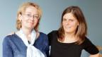 Beide fordern faire Arbeitsbedingungen: Pflegerin Barbara Metelska und Soziologin Sarah Schilliger.
