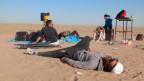 Die DJ's Arash und Anoosh in der Wüste.
