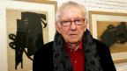 Porträt des Belgischen Autors Hugo Claus.