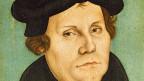 Martin Luther, gemalt von Lukas Cranach dem Älteren.