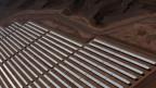Solaranlage in Noor, Marokko.