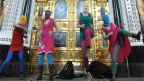 Pussy Riot beim «Punk-Gebet» in einer Moskauer Katherdrale.