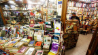 Büchermarkt in Istanbul.