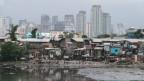 Überflutete Slums in Manila