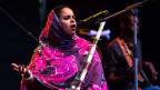 Noura Mint Seymali – bringt schweizer Schülern ihre Musik und Kultur näher.
