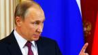 Der Präsident der russischen Föderation Wladimir Putin schreckt nicht zurück Propaganda zur Durchsetzung seiner Ziele zu benutzen.