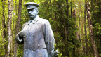 Stalin Statue im Grutas Park in Litauen – Spuren der Besetzung durch die Rote Armee.