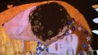 «Der Kuss» von Gustav Klimt.