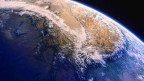 Foto der Erde aus dem All.