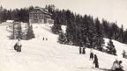 Auch schon um 1935 verbrachten viele Schweizer und Schweizerinnen ihre Ferien in den Bergen – hier zum Beispiel im Wallis.