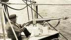 Anfang 19. Jahrhundert fing man noch bedenkenlos Wale – hier 1913 der Prinz von Monaco.