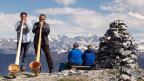Die Tradition des Alphornspielens kommt bei den Touristen gut an.