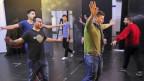 Flüchtlinge proben für ein Theater