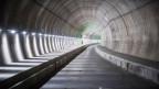 Der Blick in den Monte-Ceneri-Basistunnel.