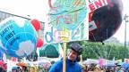 Klimakundgebung in Hamburg
