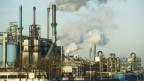 Industriegebiet Hafen in Rotterdam, Niederlande
