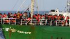 Zivile Seenotrettung von Bootsflüchtlingen vor der lybischen Küste: Die «Sea-Eye» der gleichnamigen deutschen NGO