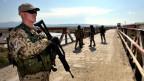 Deutscher Soldat im Einsatz in Afghanistan.