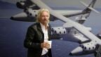 Der Unternehmer Richard Branson will Touristen ins All schicken