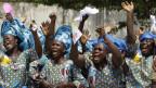 Katholikinnen in Benin freuen sich auf den Besuch des Papstes Benedikt XVI.
