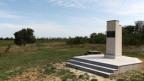 Denkmal für den Schweizer Friedhof in Schabo.