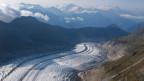 Menschen, die in der Nähe des Aletschgletschers leben, haben eine besondere Beziehung zum Gletscher.