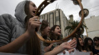 Studierende in Athen protestieren gegen die Sparpolitik der Regierung