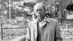Heinrich Böll in den Ferien in Ascona 1985