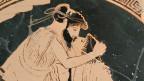 Erastes (links) und Eromenos beim Küssen, etwa 480 v. Chr.